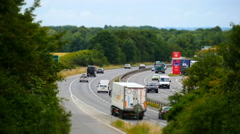 Miniature traffic Stock Footage
