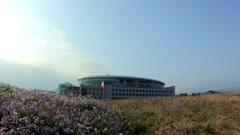 Spring Landscape of Jeju-island, Korea Stock Footage