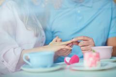Romantic occasion - stock photo