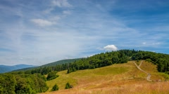 Carpathian timelapse, photos taken in Beskid mountains. - stock footage