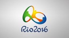 Olympics Games of Rio 2016 Stock Footage