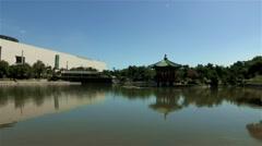 National Museum of Korea in Seoul, Korea Stock Footage