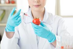Genetic modification food research will find the clue Stock Photos