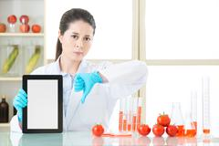 Genetic modification food are bad for human health Stock Photos