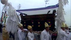 Temple in Jindo-gun, Jeollanam-do, Korea Stock Footage