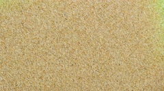 Sand on a Green Screen - stock footage