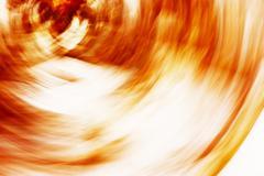 Horizontal orange motion blur swirl abstraction background Stock Photos