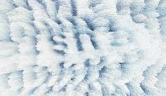 Horizontal pixel cube winter extruded map background Stock Photos
