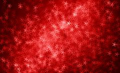 Horizontal red stars abstract background Stock Illustration