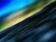 Diagonal landscape motion abstraction Stock Illustration