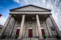 South Church Unitarian Universalist Church in Portsmouth, New Hampshire. Kuvituskuvat