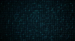 Dark Wavy Net Looping Background Stock Footage