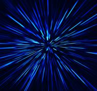 Square vibrant blue explosion radial blur abstraction background Stock Illustration