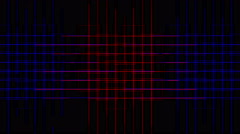 4k Abstract tech power lines grid,virtual computer electric circuit background. Stock Footage