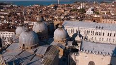 Amazing Basilica San Marco in Venice St Mark s square Stock Footage