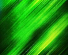 Diagonal vivid green motion blur abstraction background Stock Illustration