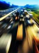Highway abstraction Stock Photos