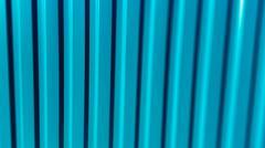 Vertical vivid aqua green blur lines portfolio presentation back Stock Illustration