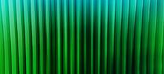 Horizontal wide vibrant green vertical lines 3d extrude cubes bu Stock Illustration
