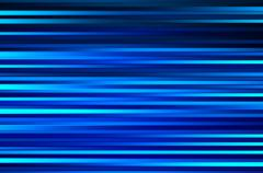 Horizontal blue lines motion blur abstract backdrop Stock Illustration