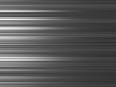 Horizontal black and white blurred abstraction lines background Stock Illustration