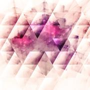Abstracts background with transparent rectangular shapes - stock illustration