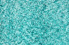 Horizontal aqua green 3d blocks illustration background Stock Illustration