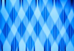 Horizontal vivid blue grid digital abstraction background Stock Photos