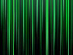 Green vertical matrix stripes Stock Illustration