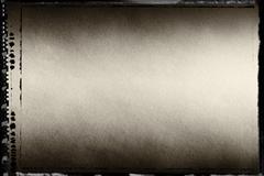Horizontal sepia toned blank filmscan background Stock Photos