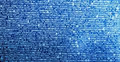 Diagonal computer code with light leak background Stock Illustration