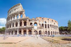 Colosseum - landmark of Rome, Italy Stock Photos