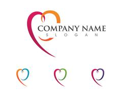 Community Care Logo - stock illustration