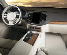 Dark luxury car Interior Kuvituskuvat