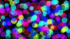 spots light night circle - stock footage
