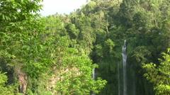 Sekumpul waterfalls, Singaraja, Bali Stock Footage