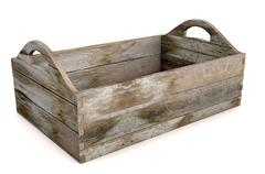 Wooden Carry Crate - stock illustration