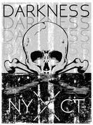 Skull T shirt Graphic Design - stock illustration