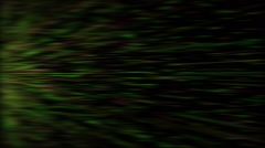 Green light streaks, abstract motion background, full hd video Stock Footage