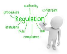 Regulation Stock Illustration
