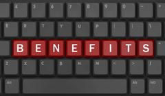 Benefits Stock Illustration