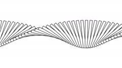 Moving geometric shapes-AL-01-pa Stock Footage