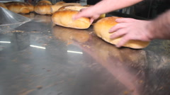 Bread Manifacture Factory food Stock Footage