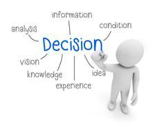 Decision Stock Illustration