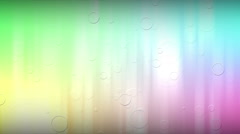 Subtle and Soft bubble animated Background Stock Footage