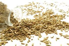 Cumin seeds Stock Photos