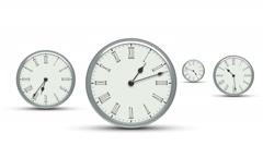 Clock. Looping. - stock footage