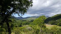 Landscape around the Cañón de Somoto Stock Photos