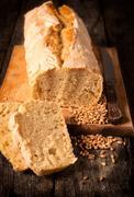 Serbian bread Stock Photos