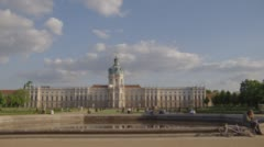 Charlottenburg Palace In Berlin Stock Footage
